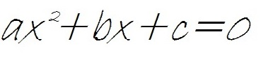 second degree equation