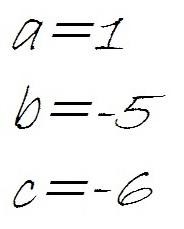 equation of second degree formula