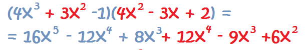 example of monomial multiplication