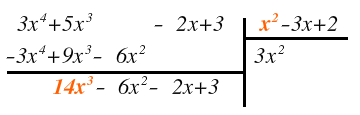 properties of polynomial division